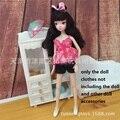 Оригинал для куклы Барби одежда leisure suit куртка юбка платье для Барби одежду Мода необходимые