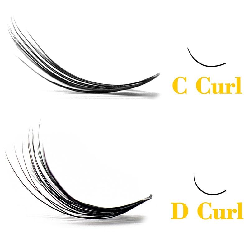 Kimcci Natural Soft False Eyelash Extension Deluxe Lashes VOLUME Flase Eyelashes Fans 3d Eyelashes Makeup 20D Grafting Cilias(China)