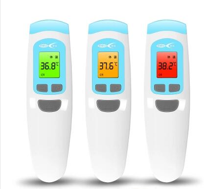 Nuevo bebé / adultos Digital multi función sin contacto frente infrarrojo termómetro del cuerpo pistola