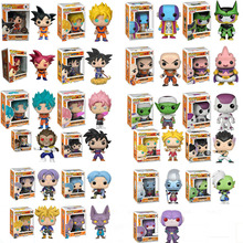 Funko Pop Anime Dragon Ball Z Super Saiyan Vinyl Action Figure Collection Model Toys For Children