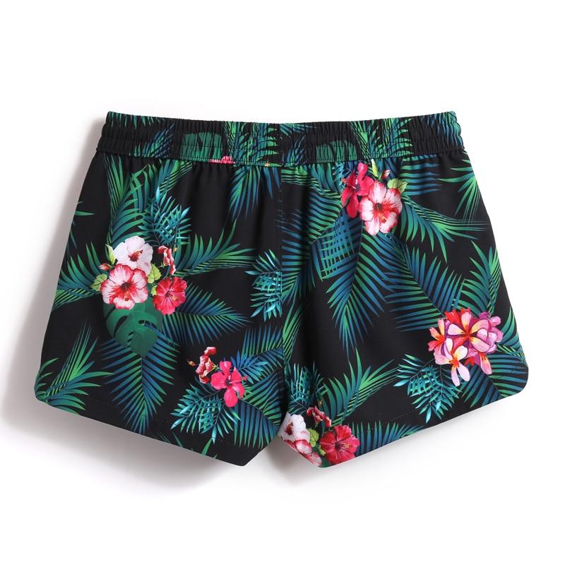 Ladies swimwear loose beach shorts bermudas sexy short praia swimming trunks sexy quick dry surf swimsuits bathing sweat joggers