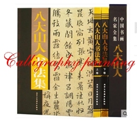 Chinese Calligraphy book album of BaDaShanRen best version 436 pages master ink art
