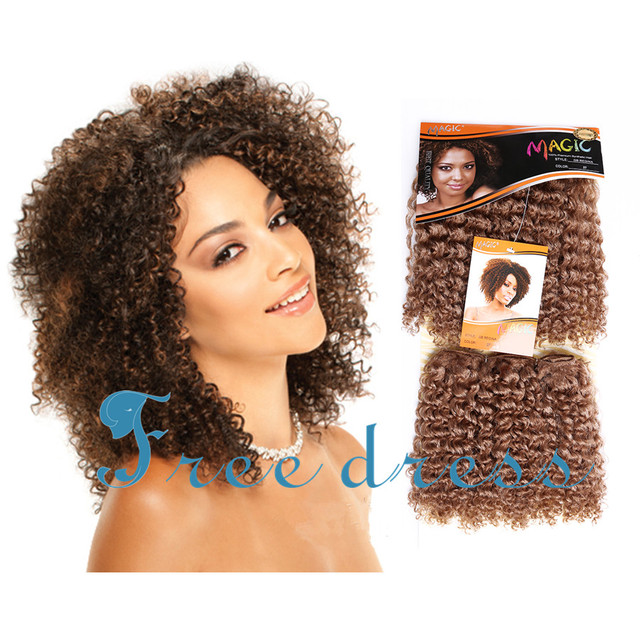 Magic Gb Regina Hair 2pcspack 8inch Short Jerry Kinky Curly Premium
