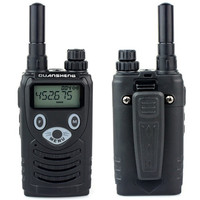 10pcs New Portable CB Radio Walkie Talkie QUANSHENG TG K200 UHF 2 Antenna 400 480MHz 200CH 5W FM Radio Mini Two Way Radio