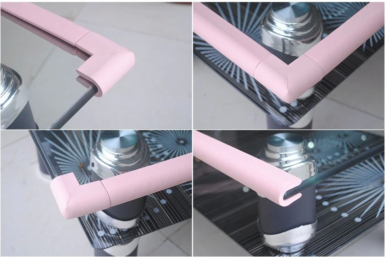 table edge guard. aliexpress.com : buy 1pc baby bumper strip safety corner protector glass table edge guards furniture guard collision fh04 from