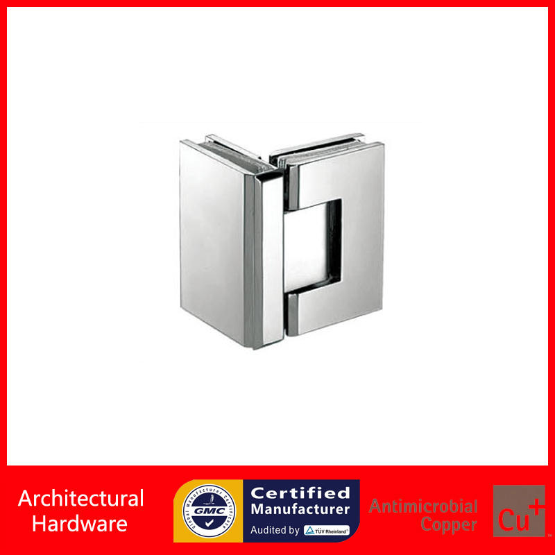 90 Degree Shower Door Hinge Solid Copper Glass Hinges DC-3053 Glass to Glass Fitting Spring Hinges helga nõu kuues sõrm