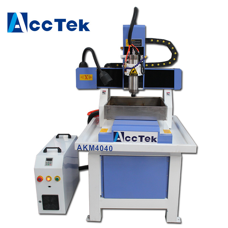 Ball Screw Transmission Cnc Router 4040 Metal Mould Machine 3 Axis Cnc Router Aluminum Frame