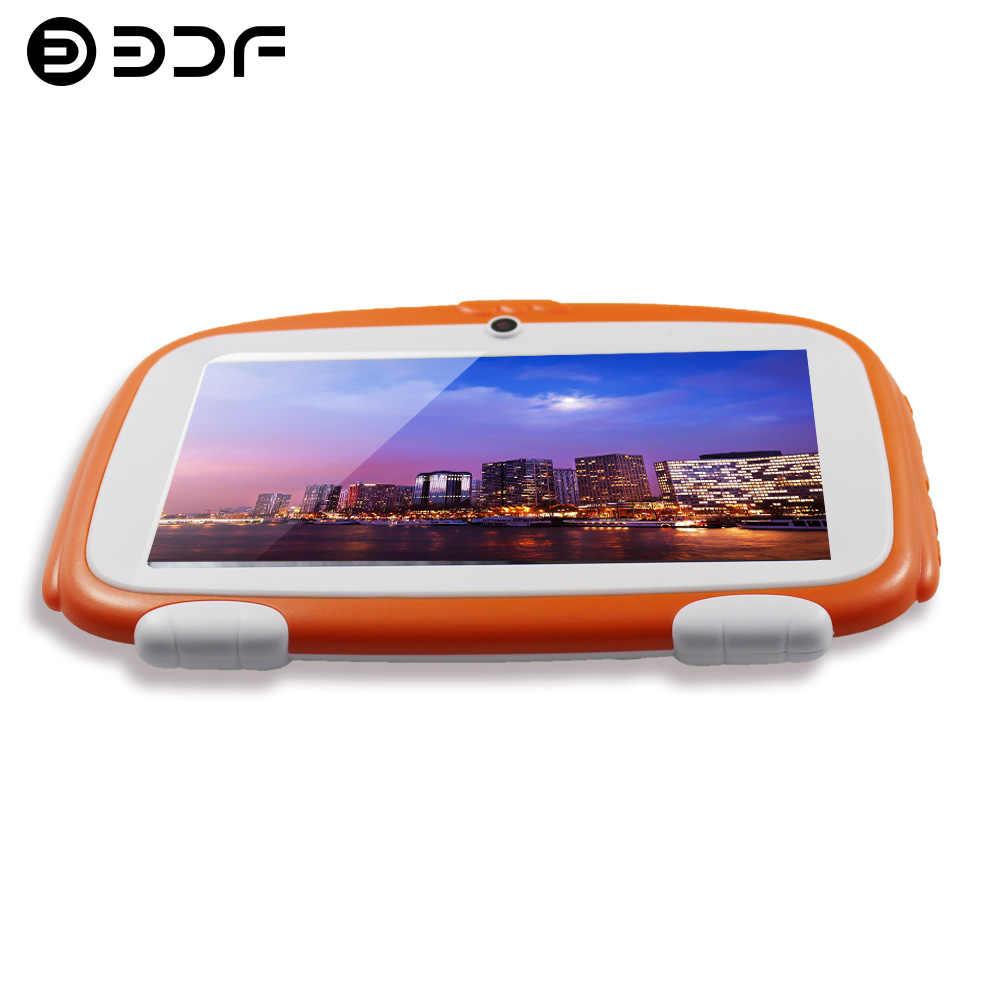 7 inç ÇOCUKLAR Android Tablet PC WIFI Bluetooth Çift kamera 8 GB 1024*600 tab pc bebek ve çocuklar tabletler Dört Çekirdekli 8 9 10 tablet
