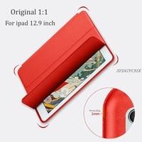 Tablet Case For Ipad 12 9 SZEGYCHX Color PU Ultra Slim Magnet Wake Smart Cover Sleep