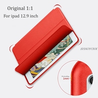 Tablet Case For Ipad 12 9 SZEGYCHX Color PU Ultra Slim Magnet Wake Smart Cover Sleep