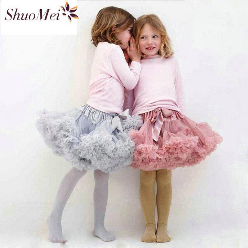 Детские юбки для Обувь для девочек для маленьких девочек одежда американки Юбки для женщин юбка-пачка принцессы для праздника Балетные Кос...