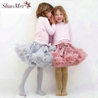 Kids Skirts For Girls Baby Girl Clothes Fluffy Pettiskirts Tutu Princess Party Skirts Ballet Dance Wear Petticoat Kids Clothes