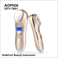 MISMON Ultrasonic Cryotherapy Hot Cold Hammer Facial Lifting Vibration Massager Face Body Import Export Face Care Beauty Machine