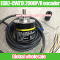 1 unids E6B2-CWZ1X 2000 P/R codificador de Omron/2000 línea de codificador rotatorio/2 M encoder incremental