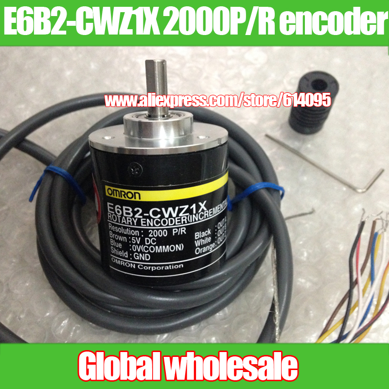 1x OMRON 100P Incremental Rotary Encoder 100p//r E6B2-CWZ1X Differential Signal