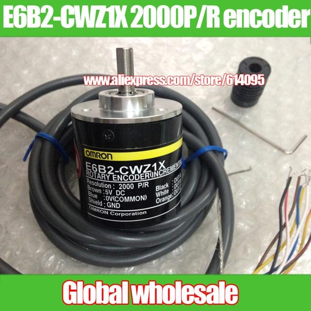 1pcs E6B2-CWZ1X 2000P/R encoder for Omron / 2000 line rotary encoder / 2M incremental encoder
