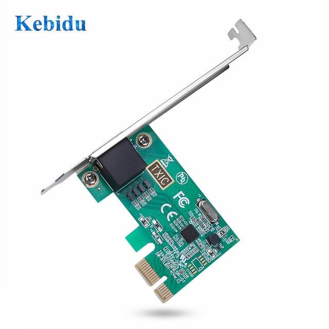 Kebidu PCI Express PCI-E כרטיס רשת 1000Mbps Gigabit Ethernet 10/100/1000M RJ-45 LAN מתאם ממיר רשת בקר