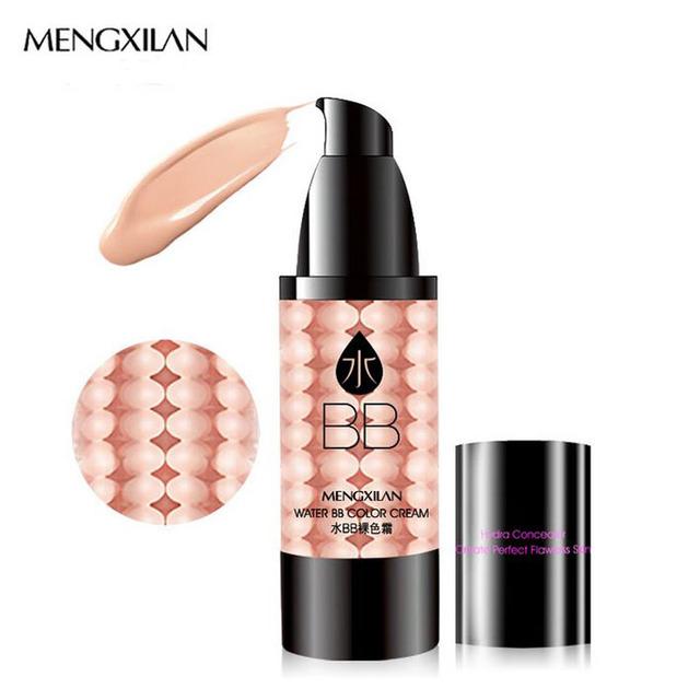 MENGXILAN Invisível BB Creme BB CC Creme Base de Maquiagem Base de Maquiagem Fundação Corretivo Protetor Solar Facial Beleza Coreano
