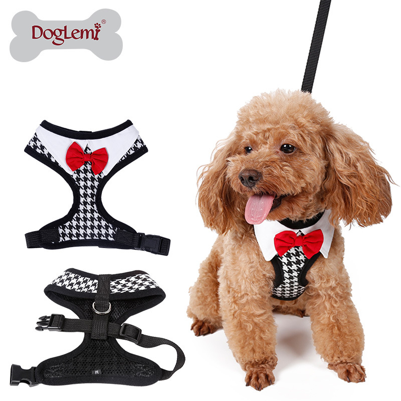 pet products dog harness collars leash for small breeds
