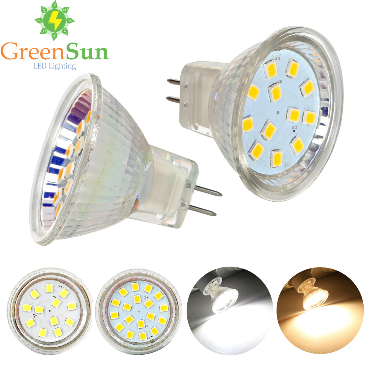 MR11 GU4 2835 SMD Led Spotlight 3W 5W LED Lamp Bulb Energy Saving Led Spot Light Bulb Cool/Warm White AC/DC 12-30V