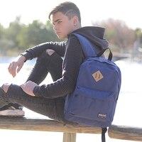 BESTLIFE School Bags/Schoolbag For Teenage Girls Boys Fashion Canvas Travel Backpack Laptops Black Yellow School Student Mochila
