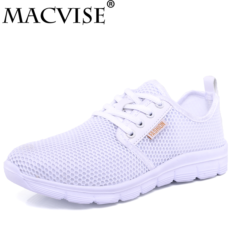 Women Sneakers Casual Shoes Women Summer Lightweight Breathable Trainers Ladies Flats Fashion Mesh Shoes Size 5-7.5