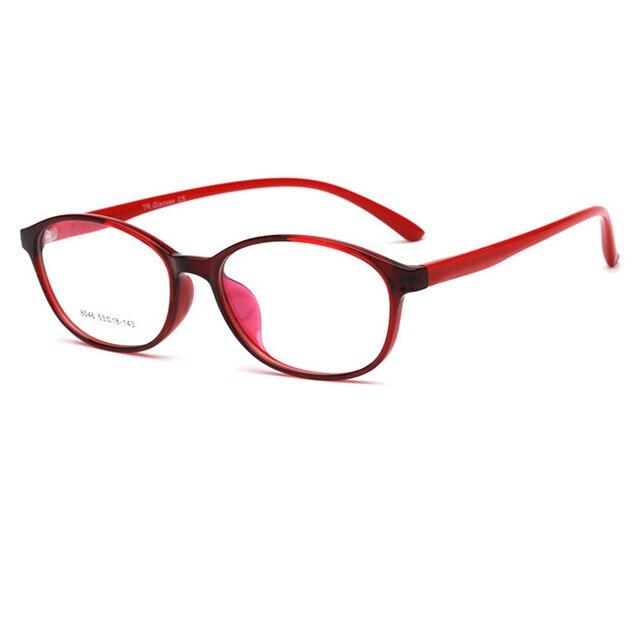 b7ddb6907e Fashion Very light oval TR90 Eyeglasses Frames Good quality Men Women  Optical Plain Mirror Eye Glasses