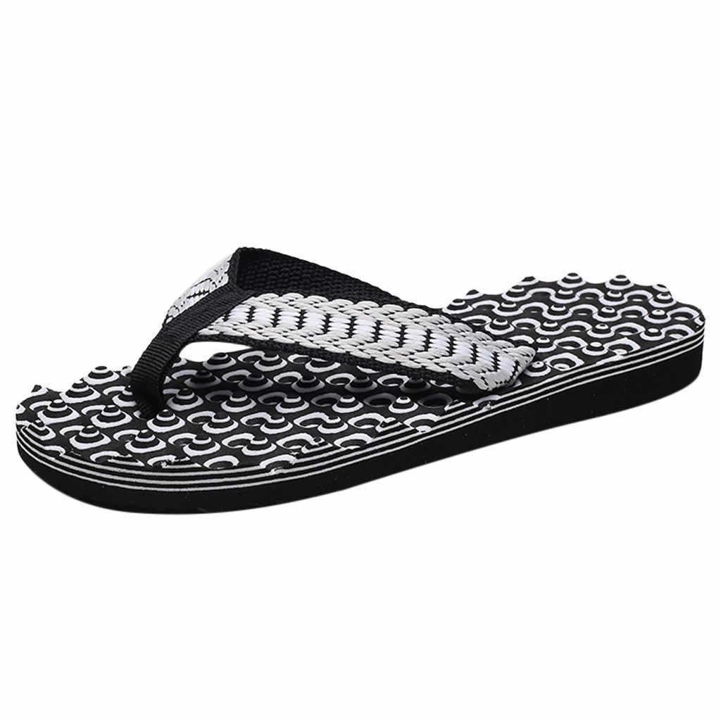 Nieuwe Mode Mannen Zomer Slippers Schoenen Sandalen Mannelijke Slipper Comfortabele Massage indoor & outdoor Slippers Sandalen Schoenen