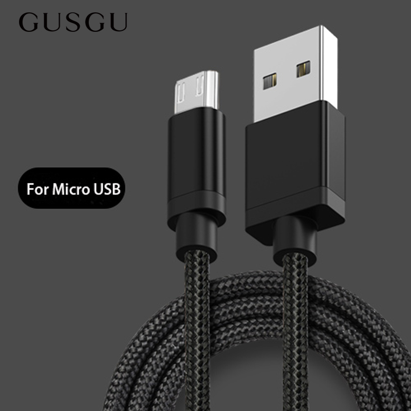 GUSGU Cord Microusb-Charger Date Cable Charging Mobile-Phone Huawei Xiaomi Redmi 5-Plus
