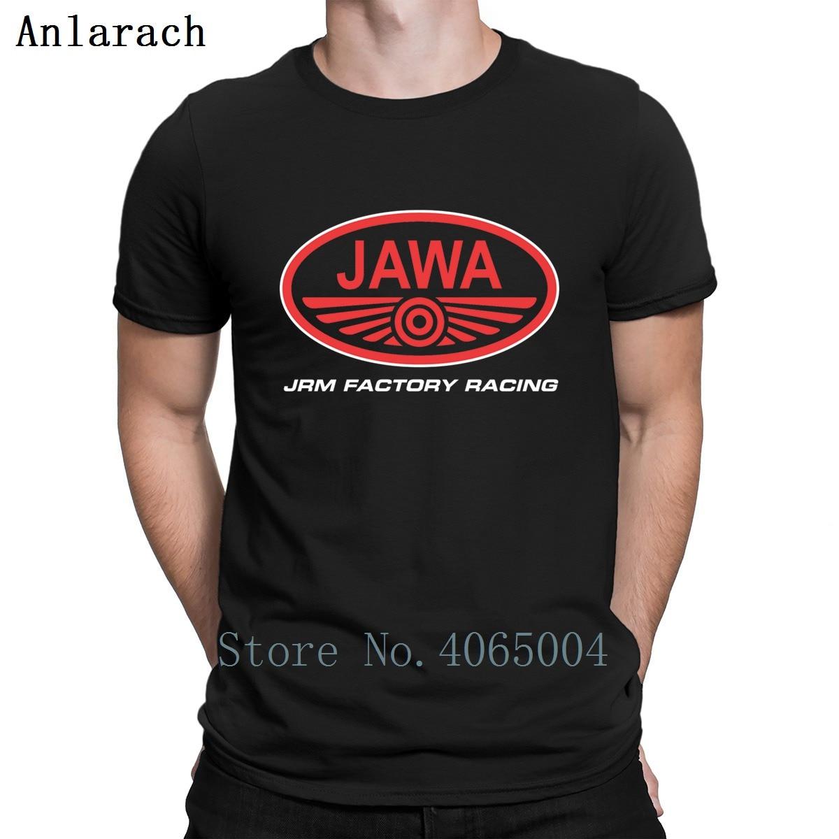 Jawa Logo T Shirt Fitness Cotton Personalized Formal Leisure Summer Basic Size S-3xl Shirt