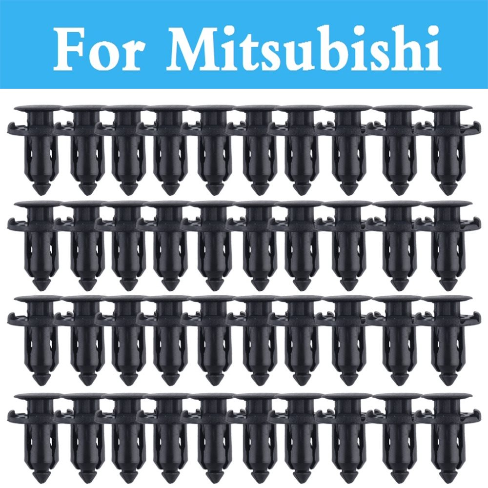 9mm Hole Car Parts Panel Trim Clips Plastic Rivet Fastener For Mitsubishi Galant I I-Miev Lancer Cargo Evolution Ralliart Minica игровой набор paw patrol два щенка в домике 16660 mar
