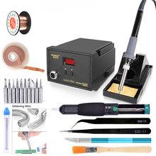 220V High quality 60W digital display soldering station welding iron 936 LED digital soldering iron 937D soldering station set