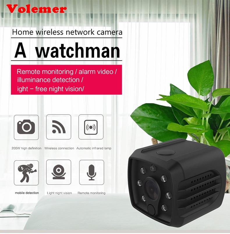 Mini Camera H7 Wireless Wifi P2P IP DVR Micro Cam HD 1080P 720P IR Night Vision Video Recorder Remote Monitoring Mini Camcorder mini wifi camera hd 264 720p 1080p night vision ir ip cam cctv p2p camcorder wide angle 140 deg remote security monitoring