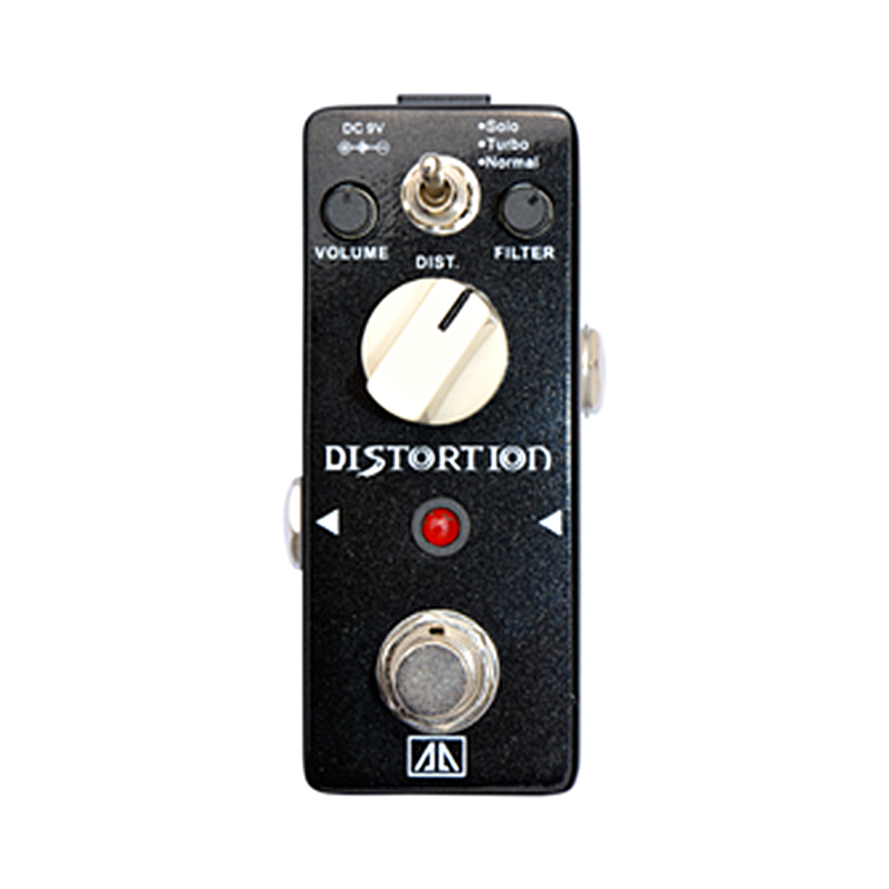 Distortion Guitar Effect Pedal AA Series Volume Filter Distortion Control Effects for Electric Guitar  True bypass aroma aeg 3 gt eqanalogue 5 band equalizer guitar effect pedal mini volume with true bypass volume control guitar parts