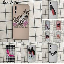 MaiYaCa phone case For Huawei honor 9 Leopard high heels Coque Shell Phone Case For Huawei honor 9 10 7s 8 p20 Cell phone case(China)