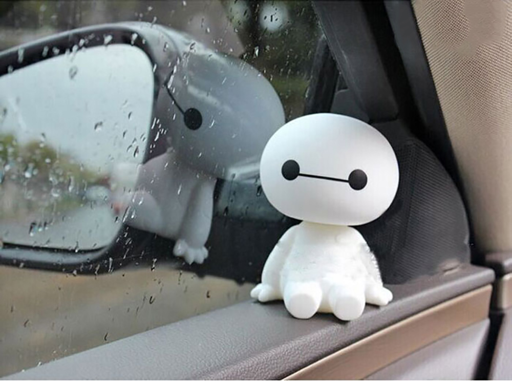 Cute Baymax doll for your car interior