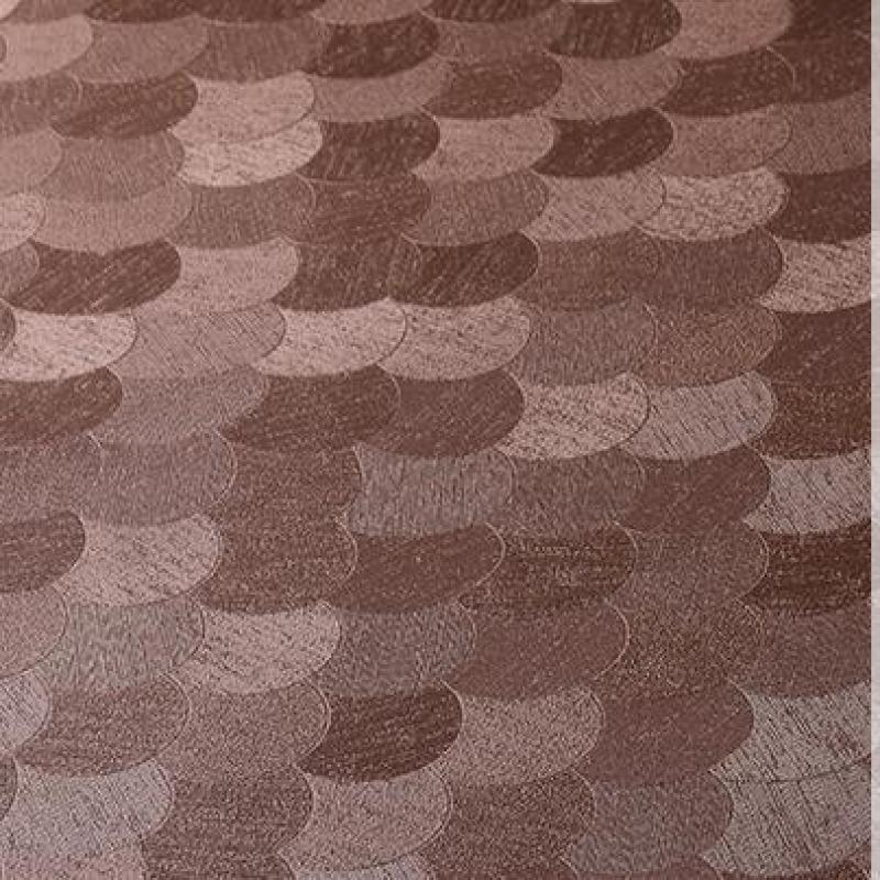 1 Meter Fish Scale Pattern Faux Leather Fabric Quilted