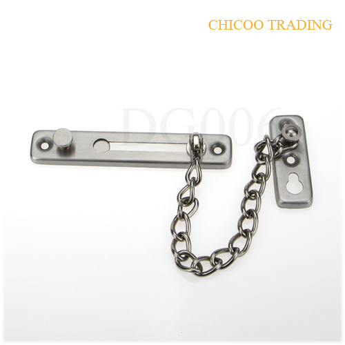 Door Chain, Security 304 Stainless steel Security Door Chain Anti ...