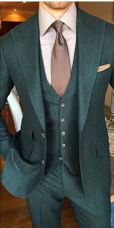 latest coat pant designs green tweed suits men slim fit