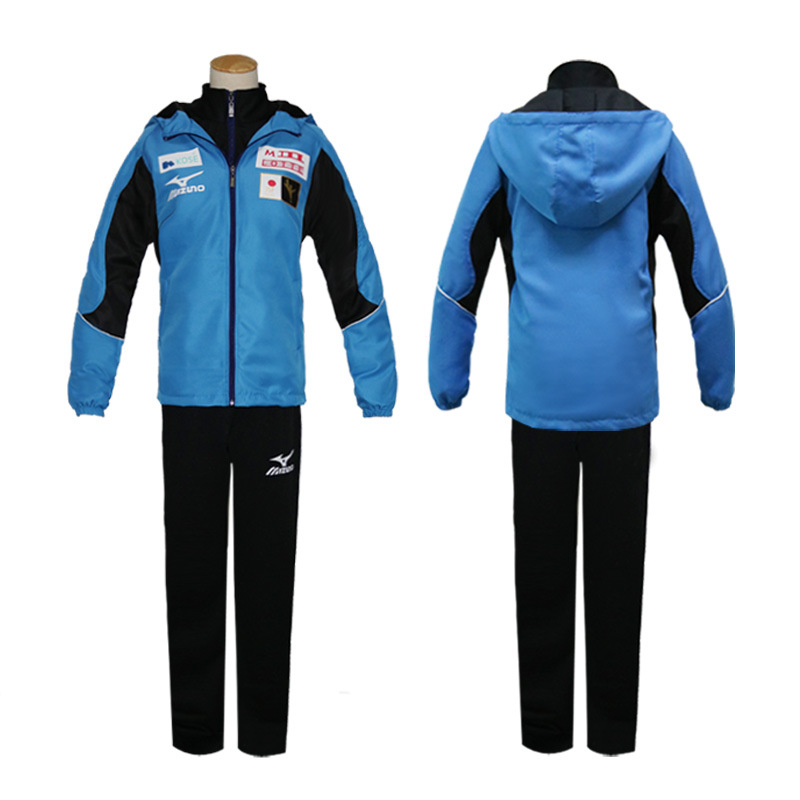 YURI !!! on ICE anime cosplay costume  yuri on ice Yuri Katsuki sportswear cosplay costumes yuri on ice cosplay clothing