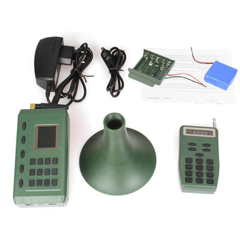35W Hunting Speaker Bird Caller Amplifier Sound Decoy Player Remote Control