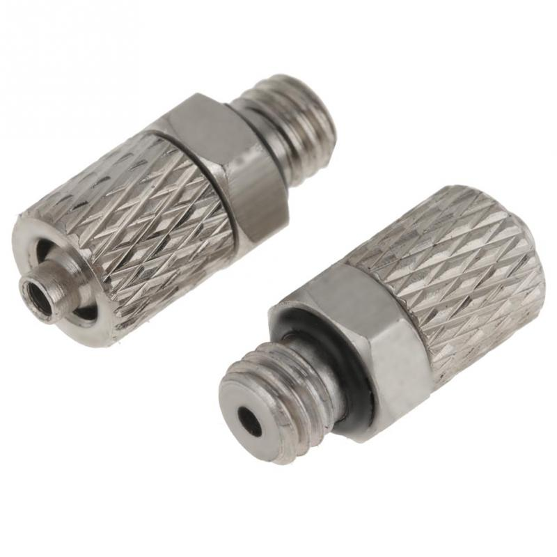 20Pcs Elbow Pneumatic Pipe Air Hose Quick Fitting Mini Connector Iron