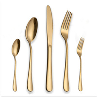 KuBac Hommi Gold Tableware Set Stainless Steel Cutlery Set 30Pcs Gold Knife Cutlery Cutlery Gold Drop Shipping