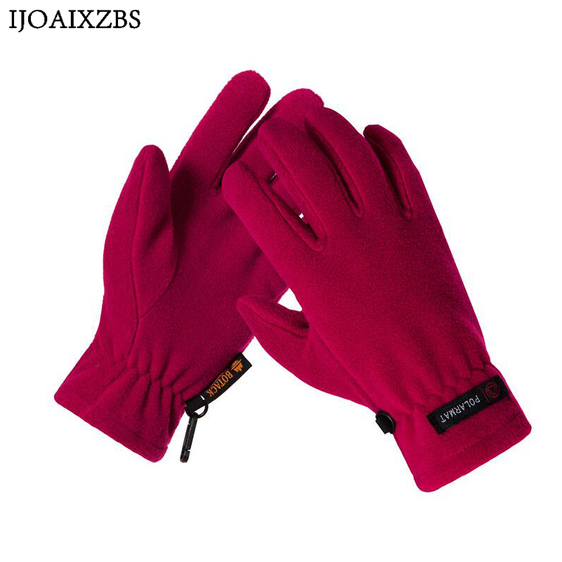 Working Gloves Anti-pilling Anti-Static Velvet Keep Warm Men Lady Outdoor Riding Skiing Climbing Winter Gloves Windproof