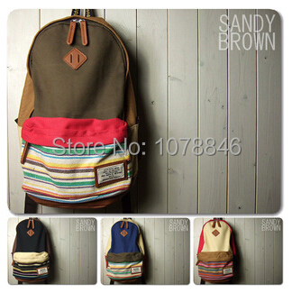 New 2014 Japanese Style High quality Women Canvas backpack mochila Girl Lady women s backpack bag