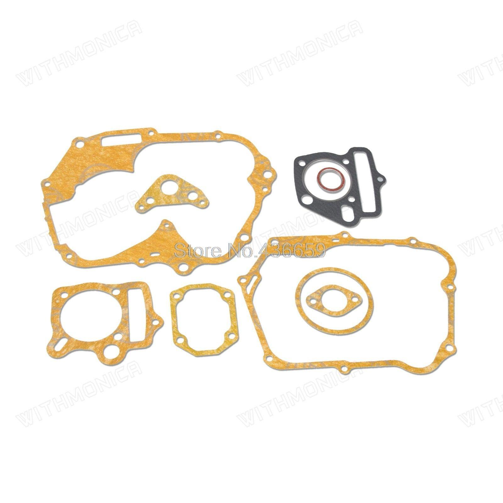 Gasket Set 125CC <font><b>ENGINE</b></font> DIRT BIKE SSR SDG <font><b>LIFAN</b></font> <font><b>110CC</b></font> 125CC 138CC image