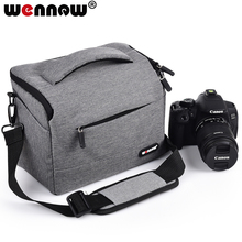 Wennew Coffee Gray Photo Cover DSLR Waterproof Camera Bag SLR Case for Nikon Z7 Z6 D3500 D5600 D5500 D5300 D5200 D5100 D5000