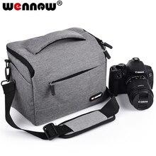 Wennew Koffie Grijs Foto Cover Dslr Waterdichte Camera Tas Slr Case Voor Nikon Z7 Z6 D3500 D5600 D5500 D5300 D5200 d5100 D5000