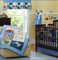 Promoción! 7 unids bordado cuna cuna del lecho ropa de cama de bebé bebe jogo de cama, incluyen ( bumpers + funda nórdica + cubierta de cama falda de la cama )