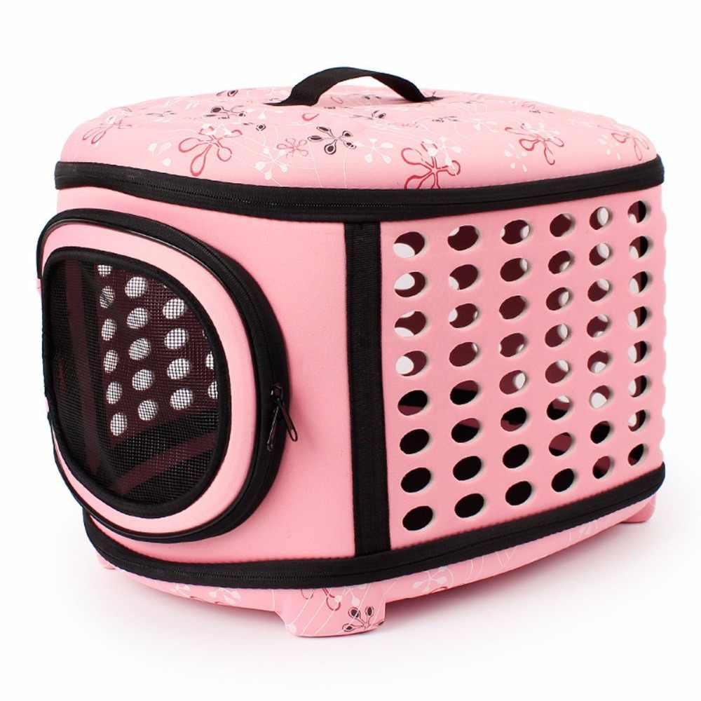 Gomaomi בית Carrier תיק חיות מחמד כלב מתקפלת עם כריכה קשה להרחבה נסיעות לחיות מחמד מלונה עבור רוב חתולים, כלבים קטנים